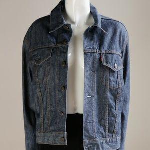 Vintage Levis Red Tab Mens Raw Denim Jacket |